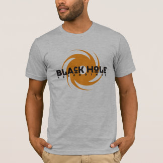 Black Hole Recordings Orange Logo Tee