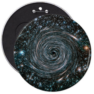 Black Hole Star Cluster Photo 6 Inch Round Button