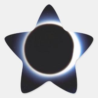 Black Hole Star Sticker
