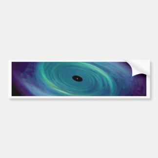 Black Hole Tie Bumper Sticker