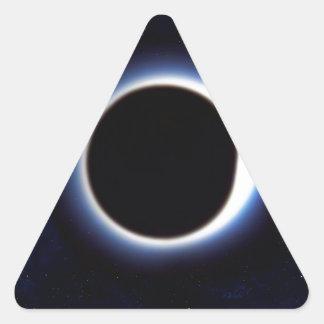 Black Hole Triangle Sticker