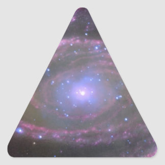 Black hole triangle sticker