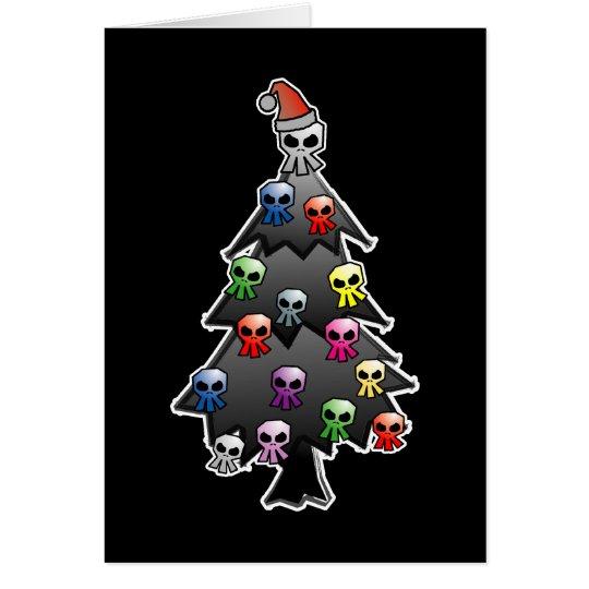 Black Holiday Card