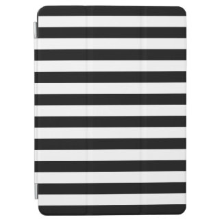 Black Horizontal Stripes iPad Air Cover