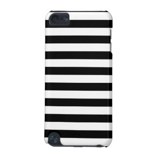 Black Horizontal Stripes iPod Touch (5th Generation) Cases