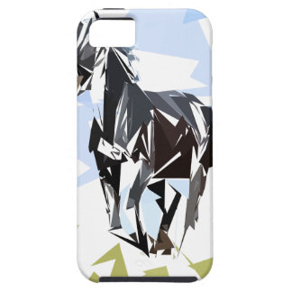 Black horse case for the iPhone 5