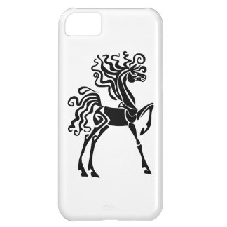 Black Horse iPhone 5C Cases