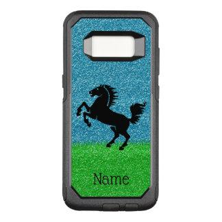 Black Horse OtterBox Samsung Galaxy S8 Case