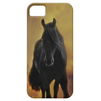 Black Horse Silhouette Case For The iPhone 5