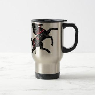 Black Horse Travel Mug