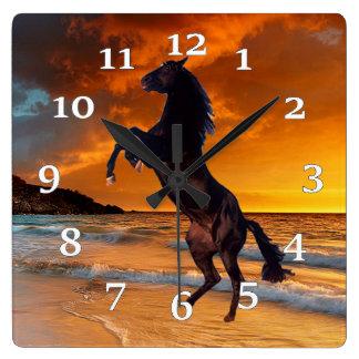 Black Horse Wallclock
