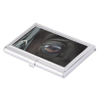 Black Horse's Eye Business Card Holder