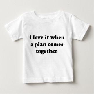 Black I Love It Baby T-Shirt