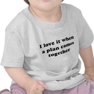 Black I Love It Tee Shirt