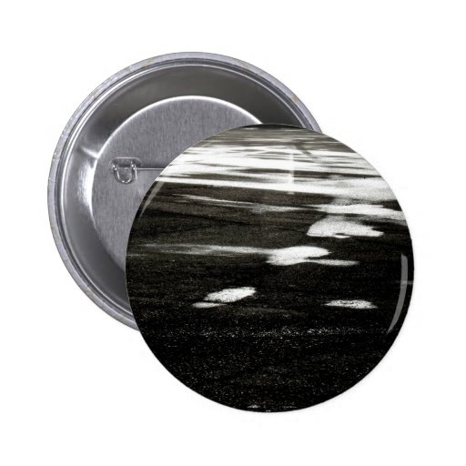 Black ice pinback buttons