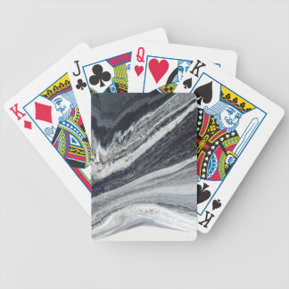 Black Ink Bicycle Playing Cards