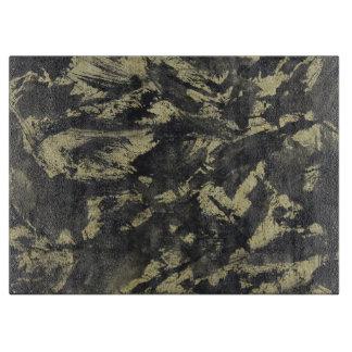 Black Ink on Gold Background Boards