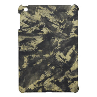 Black Ink on Gold Background Case For The iPad Mini