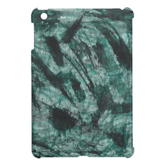 Black Ink on Green Marker Cover For The iPad Mini