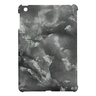 Black Ink on Green Washable Marker iPad Mini Case