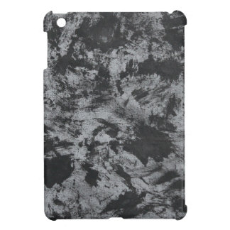 Black Ink on Grey Background Case For The iPad Mini