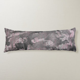 Black Ink on Pink Highlighter Body Pillow