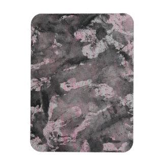 Black Ink on Pink Highlighter Magnet