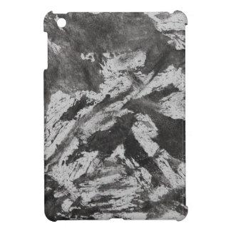 Black Ink on White Background #2 iPad Mini Case