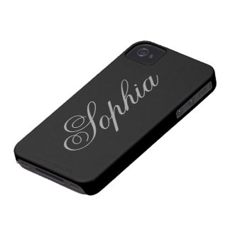 Black iPhone 4/4S CaCase iPhone 4 Case-Mate Case