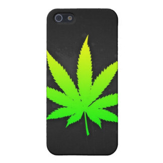 Black iphone mask weed iPhone 5/5S case