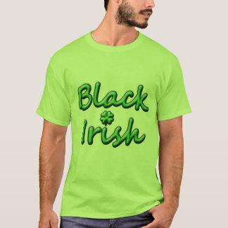Black Irish in Breezy Green Font T-Shirt
