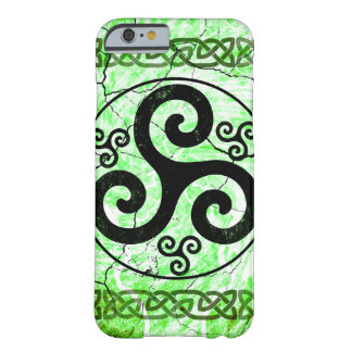 Black Irish Triskelion Barely There iPhone 6 Case