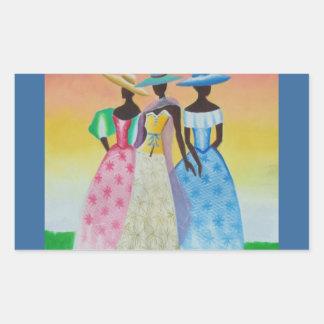 Black is Beautiful African American Art Sticker