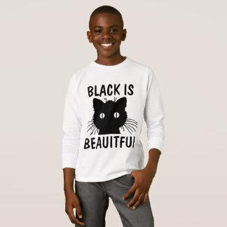BLACK IS BEAUTIFUL CAT T-shirts