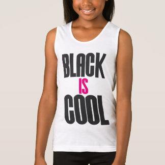 BLACK IS COOL TANK TOP