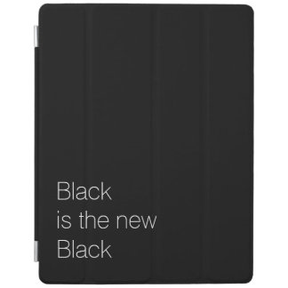 Black is the new Black custom quote iPad Cover