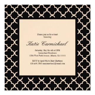 Black & Ivory Invitation
