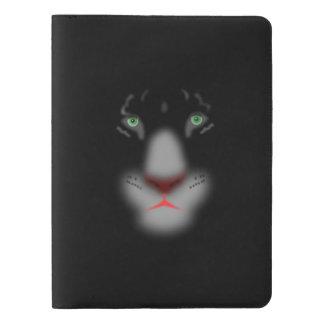 Black Jaguar or panther Big Cat Face Extra Large Moleskine Notebook