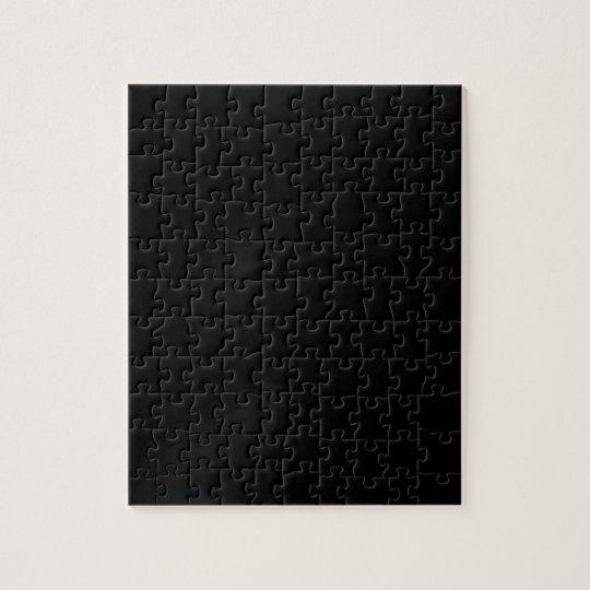 Black Jigsaw! Jigsaw Puzzle