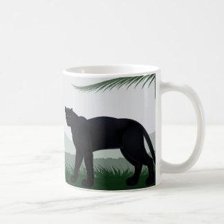 Black Jungle Panther Mug