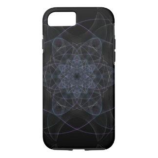 Black Kaleidoscope Design iPhone 7 Case