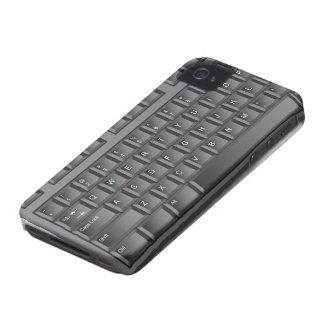 Black Keyboard iPhone 4 Case