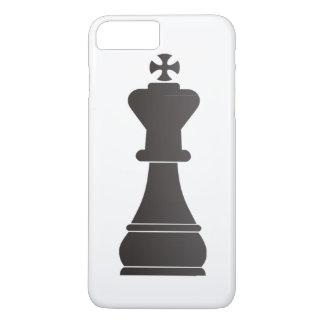 Black king chess piece iPhone 8 plus/7 plus case