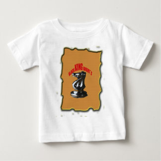 Black King Knight`s With Background Baby T-Shirt