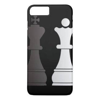 Black king white queen chess pieces iPhone 8 plus/7 plus case