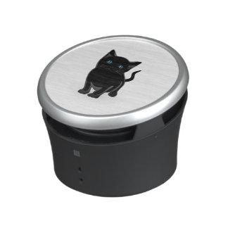 Black kitty cartoon speaker