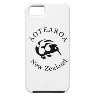 Black KIWI with Koru Case For The iPhone 5