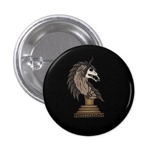 Black Knight 1 Inch Round Button