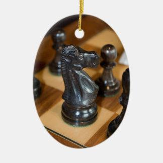 Black Knight Ceramic Ornament