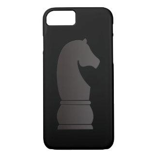 Black knight chess piece iPhone 8/7 case